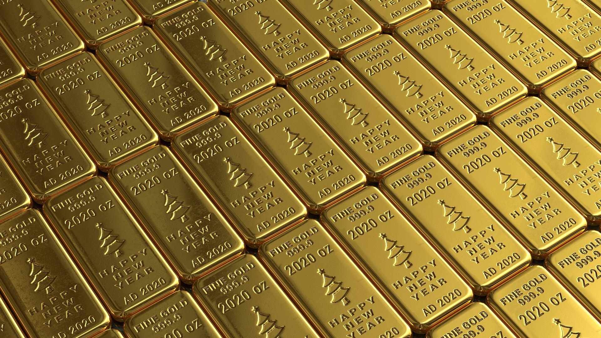 Goldbarren / Pixabay